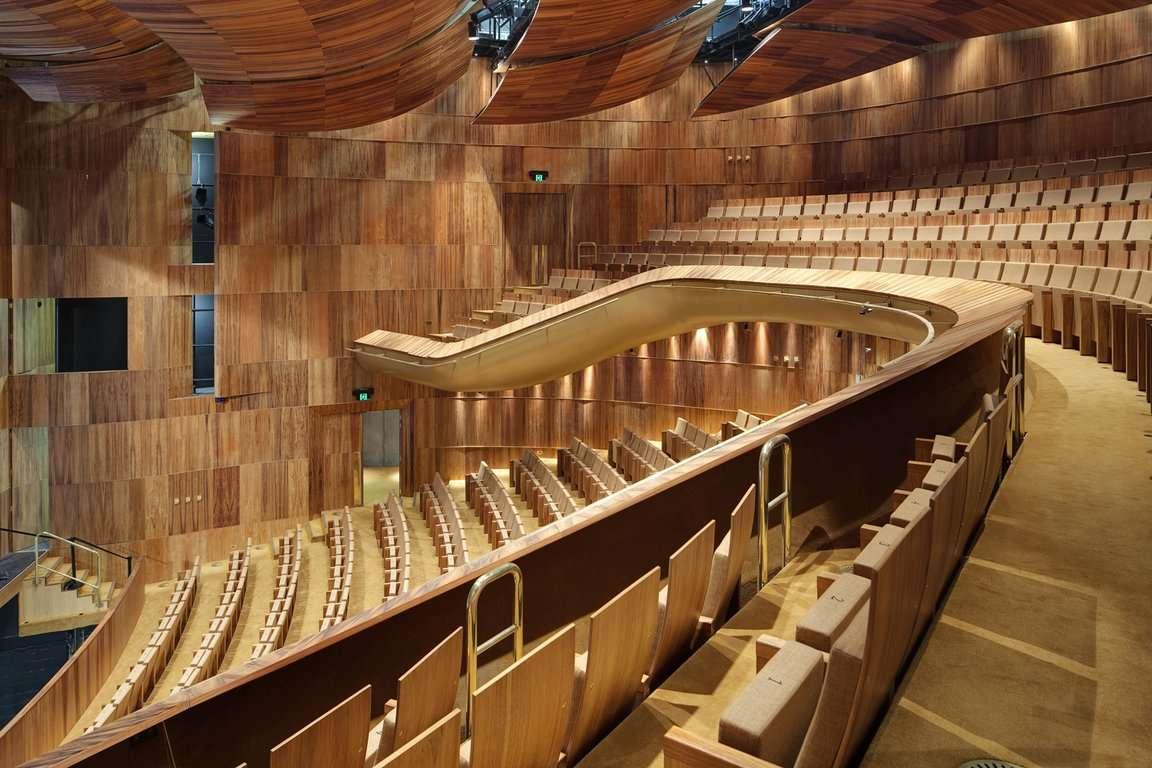 Heath ledger theatre frontline interiors for Interior design agency perth