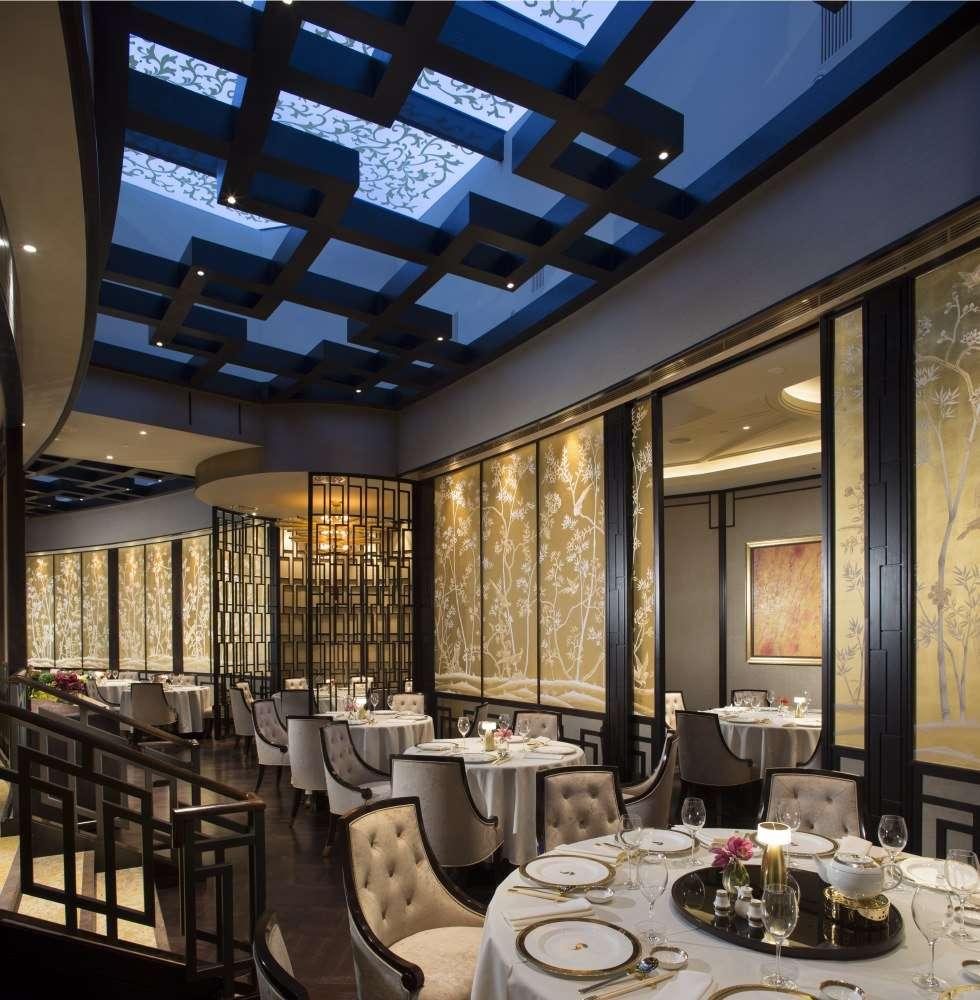 Silks crown frontline interiors - Chinese restaurant interior pictures ...